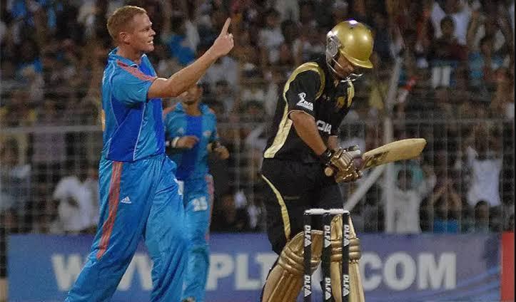 केकेआर बनाम मुम्बई 2008 आईपीएल सबसे कम स्कोर