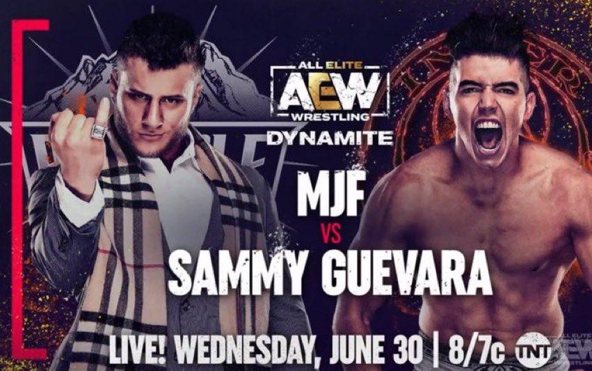 MJF अगला मुकाबला सैमी से लड़ेंगे