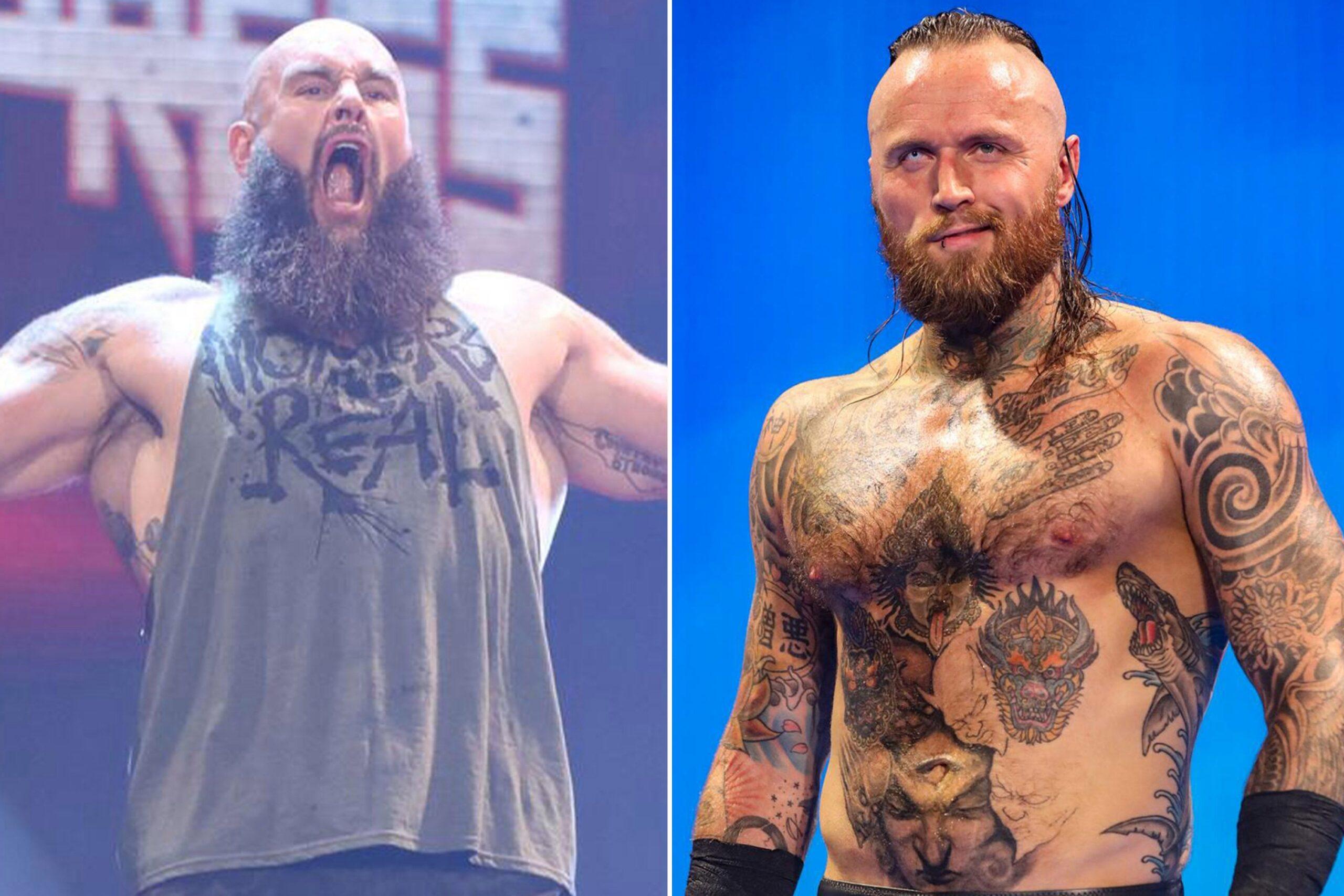 WWE ने ब्रॉन स्ट्रोमैन एलिस्टर ब्लैक और बडी मर्फी को किया रिलीज