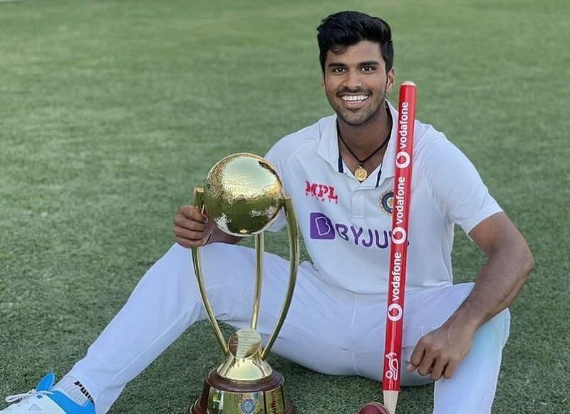 भारतीय खिलाड़ी वाशिंगटन सुंदर