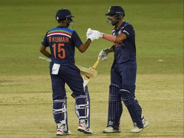 भारत बनाम श्रीलंका दूसरा वनडे दीपक चाहर भुवनेश्वर कुमार