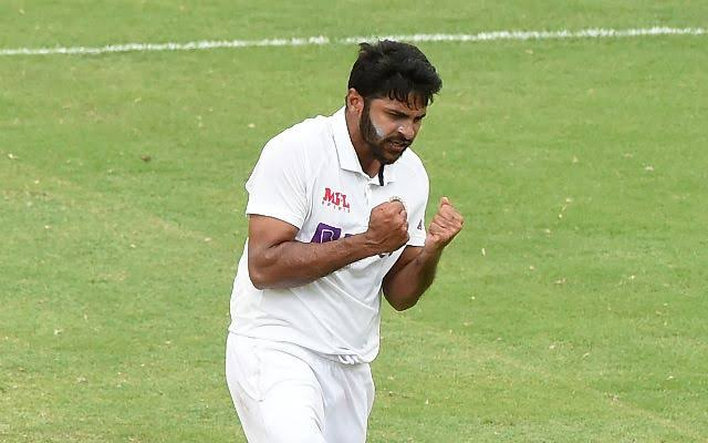 भारत शार्दूल टेस्ट